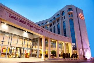 1-Leonardo Jerusalem - hotel Entrance