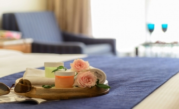 Grand Cort Hotel suite room 2